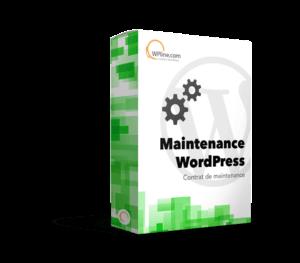 contrat de maintenance wordpress